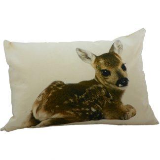 canvas kussen bambi
