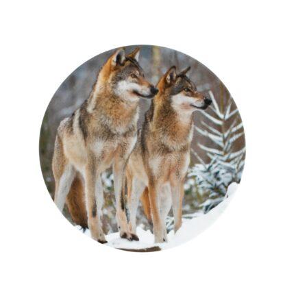 dinerborden wolven