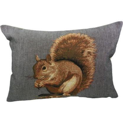 gobelin kussen eekhoorn