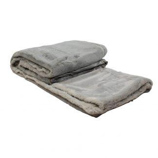 groot plaid zacht grijs