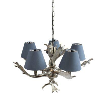 Hanglamp damhert van metaal