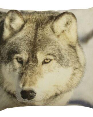 kussen wolf winter