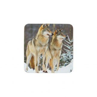 onderzetters wolven