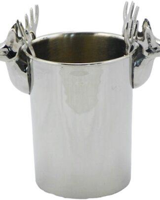 zilveren champagne koeler