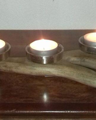 sfeerlicht gewei hout